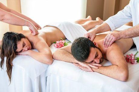 Surpreenda a sua cara-metade e desfrutem de um delicioso momento a 2! Inicie com uma relaxante massagem para os 2 e termine com o Ritual de Chá que ajudará a recuperar energias e relaxar ainda mais! Apenas 49,9€