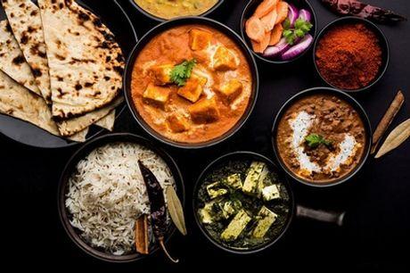 Plat indien avec riz et boisson pour 1 ou 2 personnes au restaurant Indian Street Food