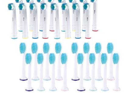 16-PACK Opzetborstels voor Oral-B/Braun en Philips. Het is algemeen bekend dat je voor een gezond gebit twee keer per dag je tanden zou moeten poetsen. Elke tandarts zal je aanraden om de opzetborstels van je elektrische tandenborstels met regelmaat te ve
