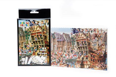 Os Puzzle Bricks aliam o melhor da construção e dos puzzles. Nesta coleção dedicada a François Ruyer poderá escolher entre 10 temas. Não espere mais e comece já a resolver o seu a partir de 16,9€