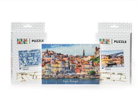 Prove que conhece a cidade do Porto de uma ponta à outra e construa o seu Puzzle! Pode optar por 4 temas: Ribeira, Azulejo, Barcos Rabelos ou Invicta. Aproveite a partir de 16,9€