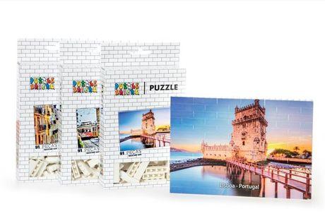 Se é um verdadeiro apaixonado por Lisboa estes puzzles são para si! Os Puzzle Bricks aliam o melhor das construções e dos puzzles. A partir de 16,9€