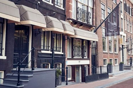 Hartje Amsterdam: standaard tweepersoonskamer voor 2 personen incl. ontbijt in Singel Hotel Amsterdam