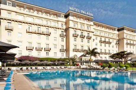 Spa-Palasthotel am Atlantik - Kostenfrei stornierbar, Hotel Palácio Estoril Golf & Spa, Estoril, Portugal - save 57%