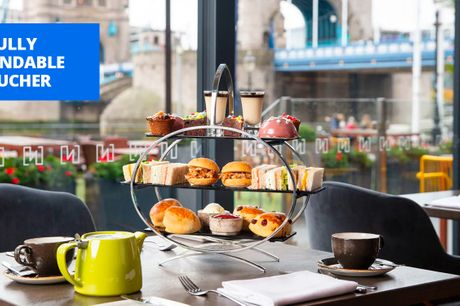 £39 -- Afternoon tea & prosecco for 2 w/Thames river views