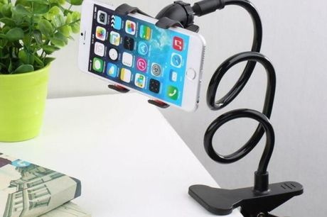 £6.99 instead of £19.99 for a flexible long arm phone clip holder from London Exchain Store - save 65%