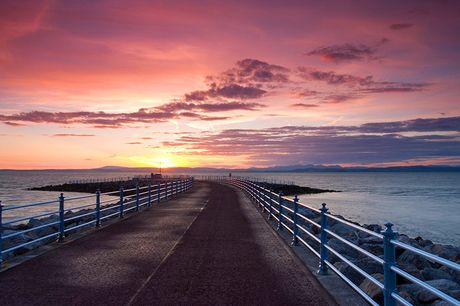 A Morecambe, Lancashire stay at The Clarendon Hotel for two people with breakfast. £59 for a one-night stay, or £105 for a two-night stay - save up to 48%