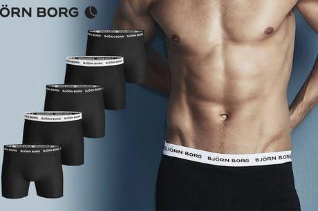 5 par boksershorts . Fyld skuffen med friske boksershorts - vælg ml. 2 pakker