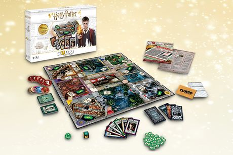 £24.99 instead of £49.99 for a Harry Potter Cluedo board game  from Bubble Bedding - save 50%