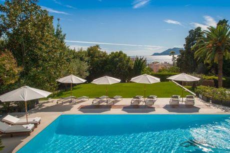 Meerblick vom Schlosshotel in Cannes - Kostenfrei stornierbar, Hôtel Château de la Tour, Cannes, Provence-Alpes-Côte d'Azur, Frankreich - save 61%