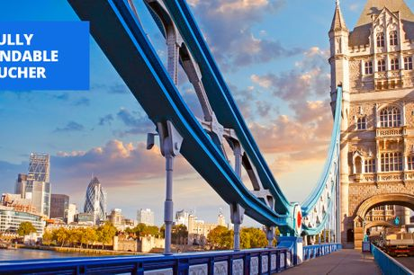 £95 -- London: 4-star stay near Tower Bridge, save up to 64%