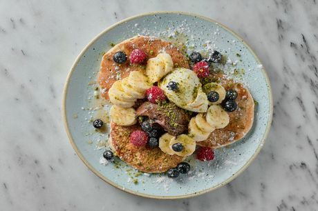 £17.50 for unlimited pancakes and bottomless prosecco at Music & Beans. What do you get? As many pancakes as you care to eat in two hours Bottomless prosecco Available every day of the week Time Out says: Arguing over which pancake toppings are the best i