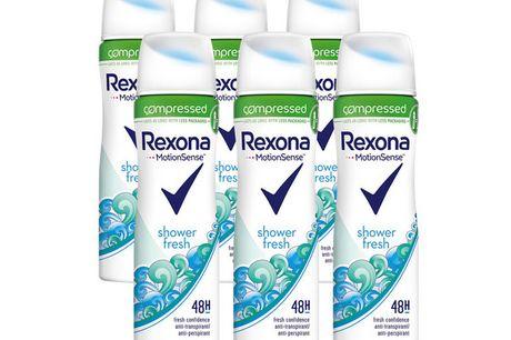 6x Fresh Shower Women's Deo | 75 ml