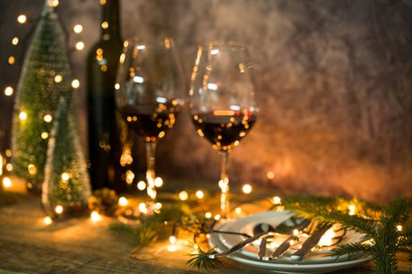 A Wiltshire Christmas break at Legacy Rose & Crown Hotel including selected festive dinners and drinks. £175pp for two nights - save up to 35%