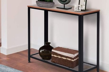 £49 instead of £90 for a steel frame industrial-style console table from Mhstar Uk Ltd - save 46%