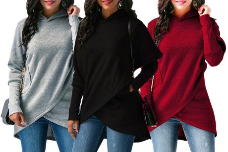 £9.99 for a women's wrap hooded jumper from Domo Secret!