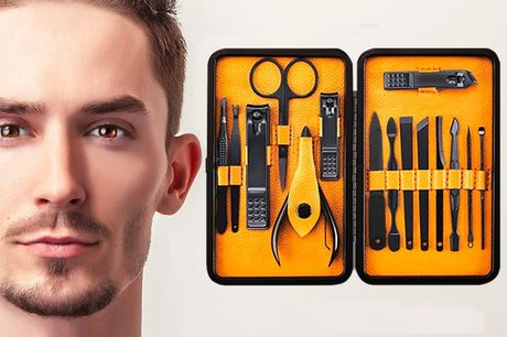 £8.99 instead of £24.99 for a men's grooming kit from Groomarang – save 64%