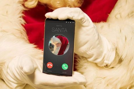 £3.50 for a personalised video call from Santa from Santa Letter Direct.