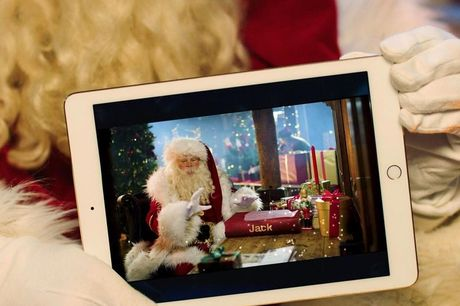 £6  for a personalised video from Santa from Santa Letter Direct