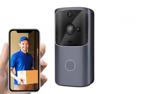 £26.99 instead of £79.99 for a 1080p wireless video doorbell or £29.99 for a wireless doorbell with a 32GB memory card from Pinkpree! - save 66%