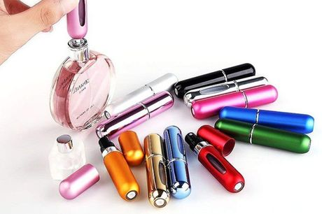 £1 for a 5ml refillable perfume atomiser - fill with your favourite scent!