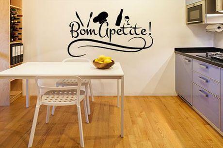 Dê um toque especial na sua cozinha com este autocolante que ajudará a dar vida às paredes de sua casa! Apenas 28,90€