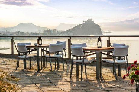 España Águilas - Hotel Puerto Juan Montiel Spa & Base Náutica 4* desde 83,00 €. Vistas al mar con actividades incluidas