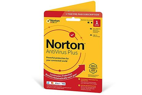 Norton AntiVirus Subscription - 1 Device 1 Year     Allows you to browse anonymously and securely     Also allows you to generate, store and autofill unique passwords     Safely store your credentials online     Store important files and documents wit