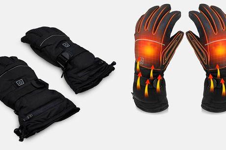 Innovative elektriske handsker der hurtigt varmer dine hænder op