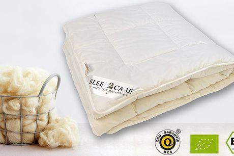 Sov dejligt med en ulddyne i ren merinould. Ulden har mange fantastiske egenskaber og sikrer blandt andet en god isolerings- og fugtabsorberingsevne, så du ikke får det for varmt om sommeren eller for koldt om vinteren.