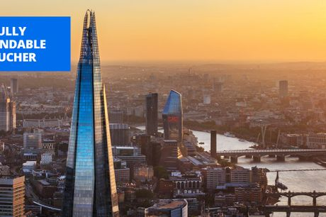 £21.50 -- The View from The Shard flexible ticket