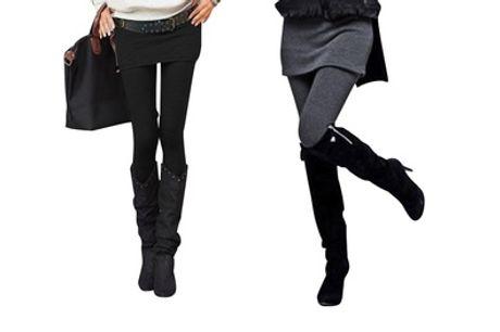 1 o 2 leggins con falda