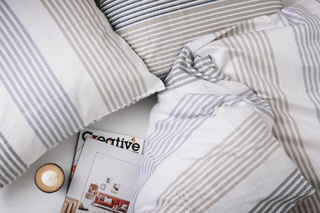 Sengetøj i bomuldssatin. Giver dig lyst til at blive i sengen hele dagen
