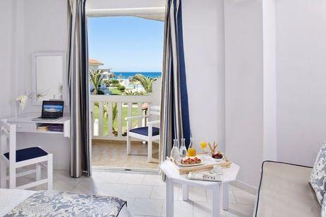 Ein Traum in Weiß auf Kreta - Kostenfrei stornierbar, Mrs Chryssana Beach Hotel, Kolymbari, Kreta, Griechenland - save 48%