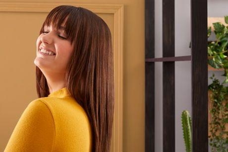 Haarverlängerung mit 50 oder 100 Echthaar-Extensions à 40 cm mit Schnitt bei Vip Haarverlängerung (38% sparen*)