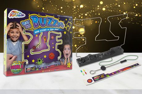 £5.99 instead of £19.99 for a kids' 'Beat the Buzz' buzz wire game from Vivo Mounts - save 70%