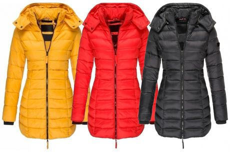 £19.99 instead of £59.99 for a women's mid length puffa coat from MBLogic - save 67%