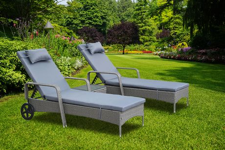 £259 for a three-piece rattan furniture set!