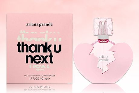 £25.99 instead of £32.96 for a 50ml bottle of Ariana Grande Thank U Next EDP - save 21%