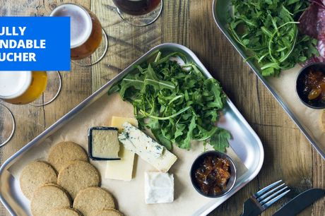 £13.50 -- Last chance: BrewDog beers & cheeseboard for 2