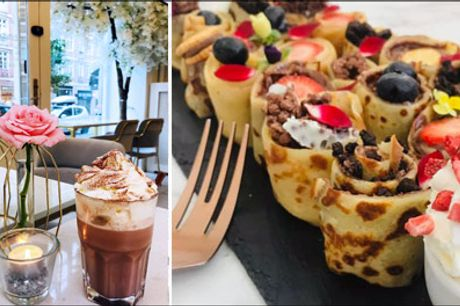 Cafedeal på Frederiksberg ♥ Food made with love.. - Lækkert til den søde tand - flot og dekorativt og noget ud over det sædvanlige. Du får 12 stk. Granny Rolls for 1 person. Værdi kr. 199,-