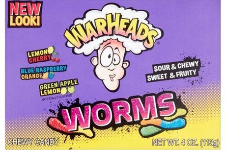 Warheads Sour Worms   12x 113 gr