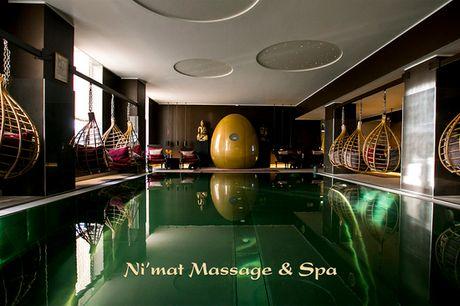 Dybdegående massage og adgang til spa. Læg 2 timers ultimativ wellness under træet