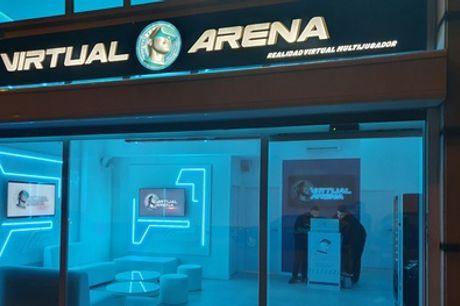 Experiencia de realidad virtual de 30 o 50 minutos para 1 o 2 personas en Virtual Arena (hasta 36% de descuento)