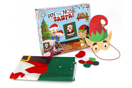 £4.99 instead of £17 for a family 'pin the nose on Santa' festive game from Vivo Mounts - save 71%