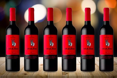 £35 instead of £90 for six bottles of Adega Mor vale da burra Portuguese red wine 750ml, or £59.99 for 12 bottles from J&Y Distribution – save up to 61%