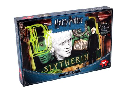 £8.99 instead of £19.99 for a Harry Potter Slytherin 500-piece jigsaw puzzle from Bubble Bedding - save 55%