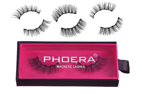 £3.99 instead of £14.99 for a pack of luxury magnetic lashes or £9.99 for a pack of three lashes from Forever Cosmetics - save up to 67%