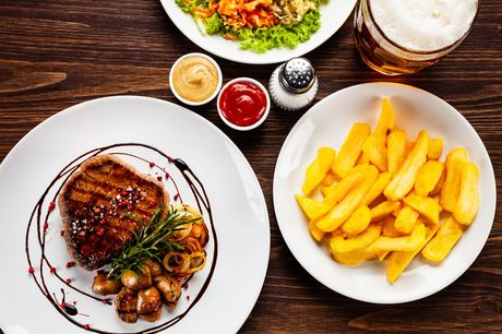£15 for a £30 food spend for two people at The Ladbrooke Hotel - save 50%