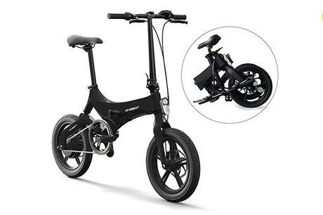 """2020 Top Moderne Elektrisk Cykel - 16"""" - 250W Motor, 50 km Rækkevidde"""